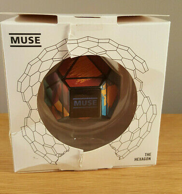 Muse Resistance Hexagon Collectable Limited Edition Boxed Band Memorabilia Read • 15£