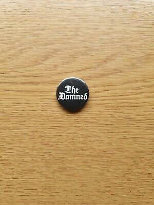The Damned Button Badge  • 2.99£