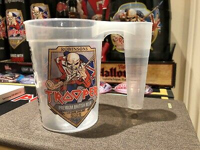 Iron Maiden Trooper Beer  UK Festival  Collectable Pint Plastic Cup 2017 - Rare • 7.50£