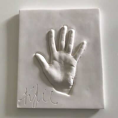 KYLIE MINOGUE Her Authentic Signed Lifecast Hand Print. Edition Of 50 • 395£