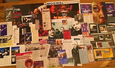 Mogwai - Magazine Cuttings Promo Flyer Approx. 50 Pieces From 1997+ NME Kerrang • 24.99£