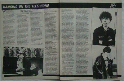 BLONDIE - SMASH HITS Interview/article 1980 • 3.95£