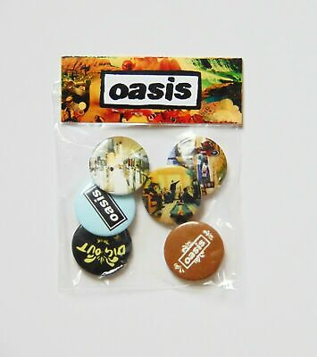 Oasis - 6 X 25mm Button Badge Set 'Dig Out Your Soul' (OFFICIAL MERCH) • 2.50£