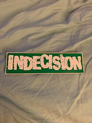 Indecision Release The Cure Promo Sticker Most Precious Blood NYHC Unbroken SOIA • 0.78£