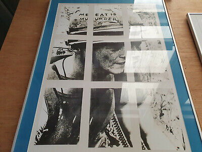 New THE SMITHS Meat Is Murder, 44  X 33  Framed Poster • 99£
