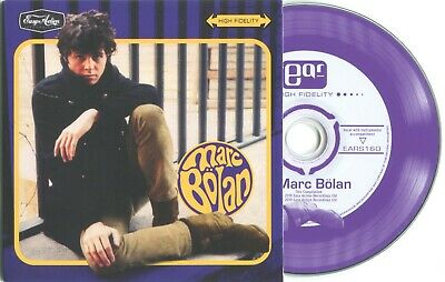 MARC BOLAN - 'MARC BOLAN' 1960's CD : RARE BOOK PROMO COPY SINGLE SLEEVE EDITION • 5.99£