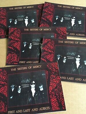 Sisters Of Mercy. Postcards. X5 1980s • 1.70£