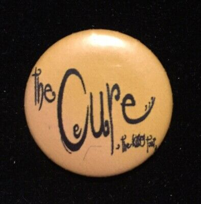 Vintage Original The Cure The Kissing Tour Pin Badge 25mm 80s Rare • 5.99£