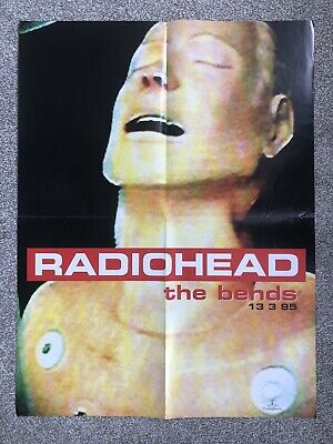 Radiohead - The Bends, Rare Poster, Issued On 13.3.95  • 9.99£