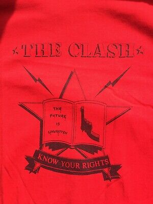 The Clash Know Your Rights T-shirt Never Worn Size XL • 2£