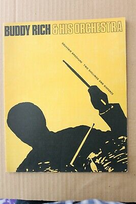 Buddy Rich & His Orchestra Tour Programme 1967? • 4.99£