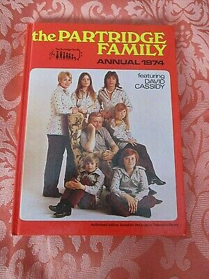 Partridge Family / David Cassidy Annual 1974 - Vintage Hardback Illustrated Book • 4£