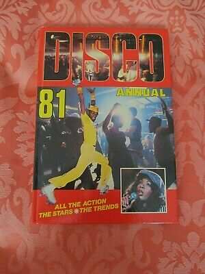 Disco Annual 1981 --  Vintage Illustrated Hardback Book Un -marked / Clipped • 4£