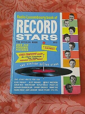 Radio Luxembourg Book Of Record Stars # 2 1963 Vintage Intro Elvis + Beatles Ect • 3£