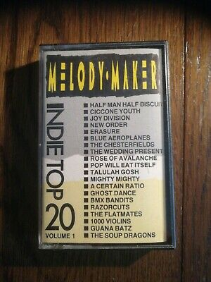 Melody Maker Indie Top 20 Vol 1 Cassette • 3.90£