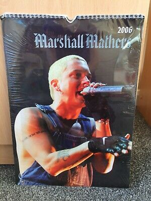 Collectable Eminem Marshall Mathers 2006 Unofficial Calendar New & Sealed • 3.70£