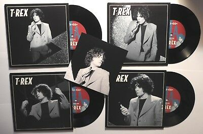 Marc Bolan /t.rex : Crimson Moon 7  (alt Version) : Complete Set Of 4 Singles  • 24.50£