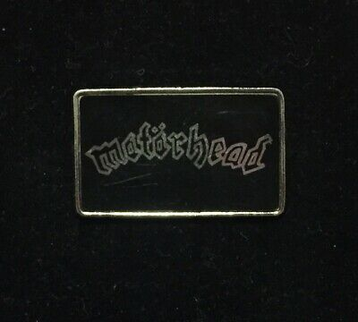 Original Motorhead Metal Pin Badge By Clubman Black Version Vintage 80s • 9.99£