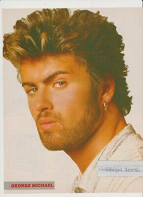 George Michael Original 1980's 1 Page Feature. • 1.50£