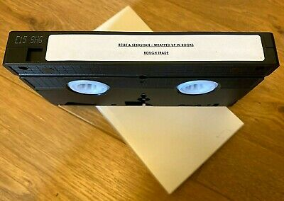 Belle & Sebastian 'Wrapped Up In Books' Promo 2003 VHS Video Rough Trade PAL • 10£
