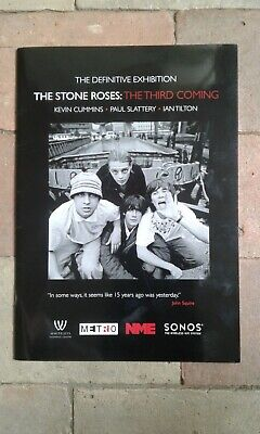 The Stone Roses    The Third Coming  Exhibition Program • 19.99£