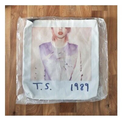 Taylor Swift Official 1989 Tour Tote Bag NEW • 19.99£