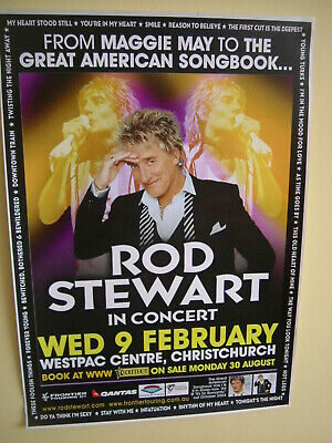 ROD STEWART X10 POSTERS COLLECTION   • 20£