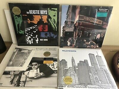 Beastie Boys Collectible Vinyl Collection New Sealed • 150£