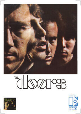 The Doors Poster - Rare First Promo 1967 On Elektra Records Large Size Reprint • 14.99£