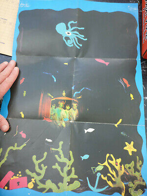 THE CURE - CLOSE TO ME FOLD OUT DOUBLE SIDED POSTER. Band Group Music • 5.99£