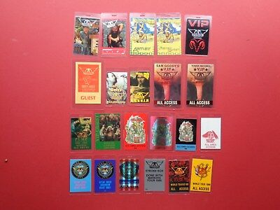 AEROSMITH, Backstage Pass Collection,89 Different,Rare Old Originals • 629.68£