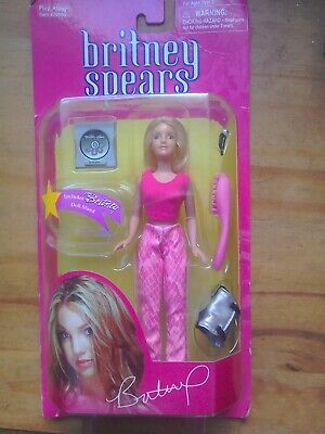 BRITNEY SPEARS .. 6  DOLL NOW PERFORMING By PLAY ALONG 2001, Boxed Unopened. • 24.99£