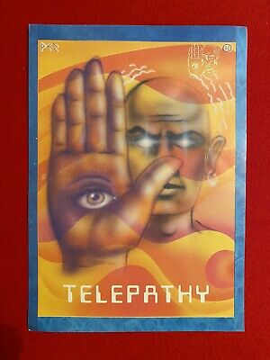 Telepathy Rave Flyer 1990 - Excellent Condition • 18£