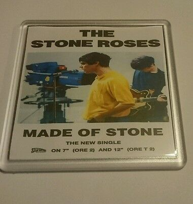 STONE ROSES COASTER MADE OF STONE Cd Vinyl Rare Ticket Poster T Shirt • 2.49£