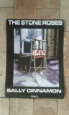 THE STONE ROSES   SALLY CINNAMON   Official Black Promo   Double Sided Poster  • 39.99£