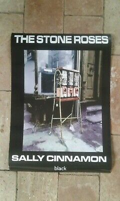 THE STONE ROSES   SALLY CINNAMON   Official Black Promo   Double Sided Poster  • 49.99£
