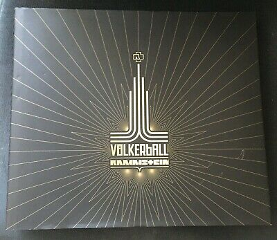 RAMMSTEIN - Volkerball - Limited Edition Photo Book & 4 Disc 2x CD 2x DVD • 49£