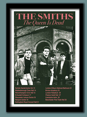 The Smiths Poster . Final Tour Promo Large B2 (50x70 Cm 28 X 20 Inches ) • 19.50£