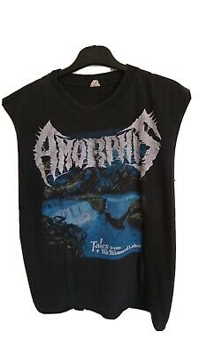 Amorphis Tales From The Thousand Lakes Shirt M Black Trash Heavy Metal Finland  • 1.99£