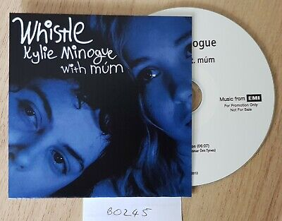 Kylie Minogue - Whistle Feat. Mum **Promo** CD • 10£