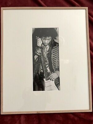 Jimi Hendrix Original Exhibition Picture ONE OF A KIND • 58.45£