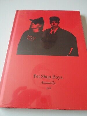 PET SHOP BOYS - ANNUALLY 2019 With AGENDA 4 TRACK CD - SEALED RARE • 49.99£