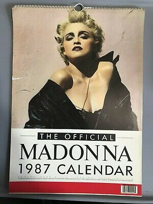 Madonna 1987 Official Calendar - Vintage Collectible Published By Danilo UK  • 12.99£
