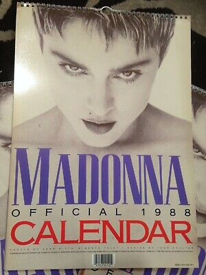 Madonna 1988 Official Calendar - Vintage Collectible Published By Danilo UK  • 14.99£