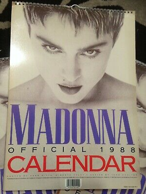 Madonna 1988 Official Calendar - Vintage Collectible Published By Danilo UK  • 9.99£