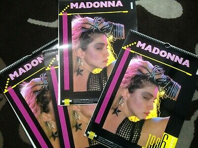 Madonna 1986 Calendar - Vintage Collectible Published By Culture Shock • 34.99£