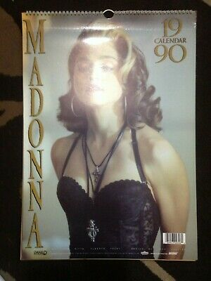 Madonna 1990 Calendar - Vintage Collectible Published By Danilo UK • 19.99£