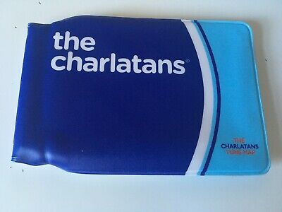 The Charlatans TUNE MAP [London Underground Style Map!!] Not CD • 25.99£