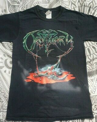 OBITUARY Shirt From Left To Die Tour 2009 Death Metal Suffocation Deicide Death  • 6£