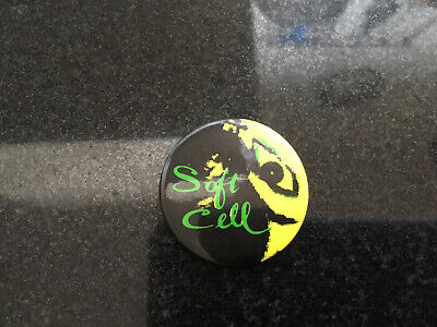 1980s Soft Cell Button Badge • 3£